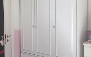 Mẫu tủ quần áo gỗ đẹp U13