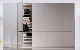Mẫu tủ quần áo gỗ đẹp U25