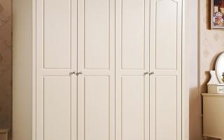 Mẫu tủ quần áo gỗ đẹp U36