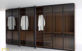 Mẫu tủ quần áo gỗ đẹp U48