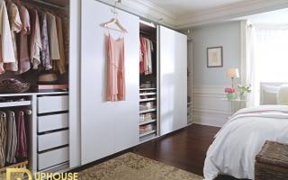 Mẫu tủ quần áo gỗ đẹp U14