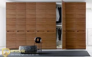 Mẫu tủ quần áo gỗ đẹp U32