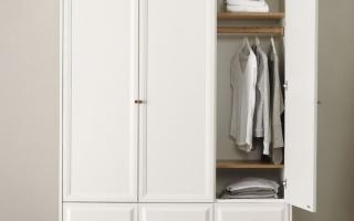 Mẫu tủ quần áo gỗ đẹp U38