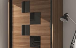 Mẫu tủ quần áo gỗ đẹp U45