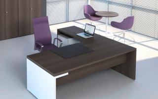 mẫu bàn làm việc văn phòng đẹp của giám đốc U29