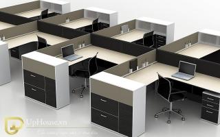Mẫu bàn văn phòng đẹp U25
