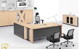 mẫu bàn làm việc văn phòng đẹp của giám đốc U14