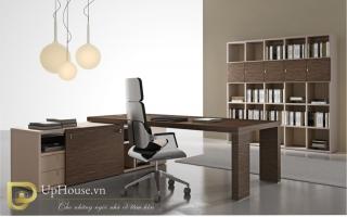 mẫu bàn làm việc văn phòng đẹp của giám đốc U24
