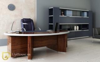 mẫu bàn làm việc văn phòng đẹp của giám đốc U30