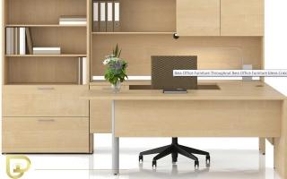 mẫu bàn làm việc văn phòng đẹp của giám đốc U40