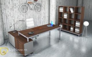 mẫu bàn làm việc văn phòng đẹp của giám đốc U6