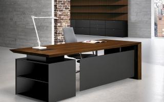 mẫu bàn làm việc văn phòng đẹp của giám đốc U41