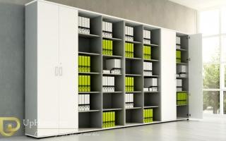 Mẫu tủ kệ hồ sơ văn phòng đẹp U13