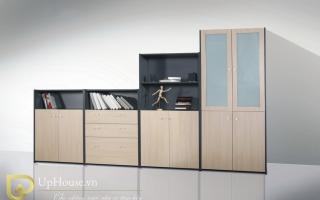 Mẫu tủ kệ hồ sơ văn phòng đẹp U14