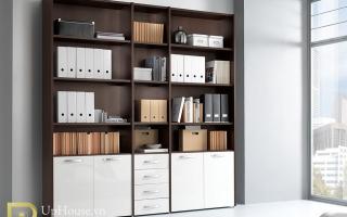 Mẫu tủ kệ hồ sơ văn phòng đẹp U2