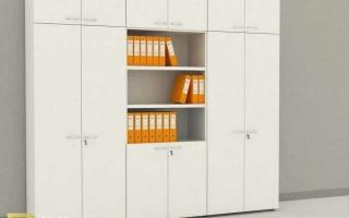 Mẫu tủ kệ hồ sơ văn phòng đẹp U22