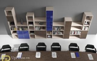 Mẫu tủ kệ hồ sơ văn phòng đẹp U29
