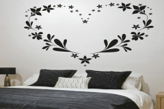 các mẫu vẽ tường phòng ngủ